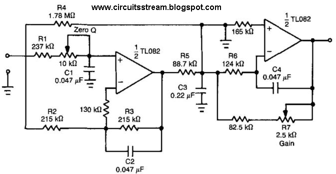 low pass filter practical applications
