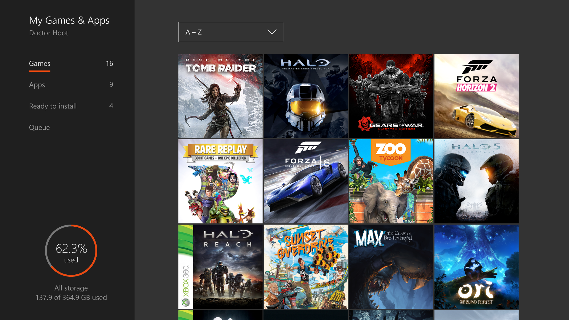 xbox one some applications arnt responding