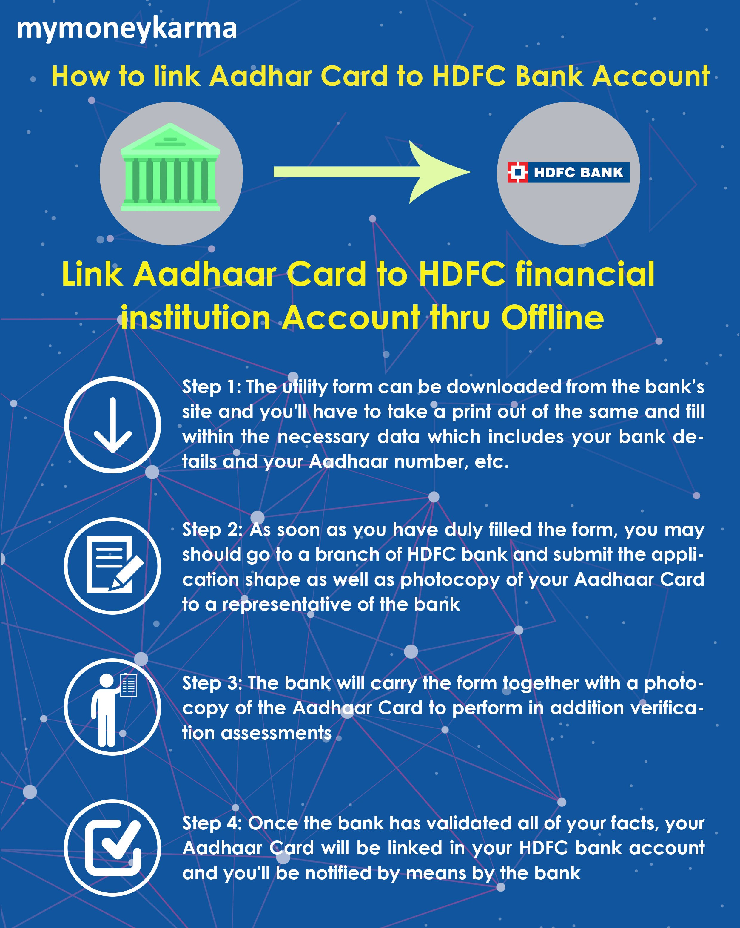hdfc mobile banking application form