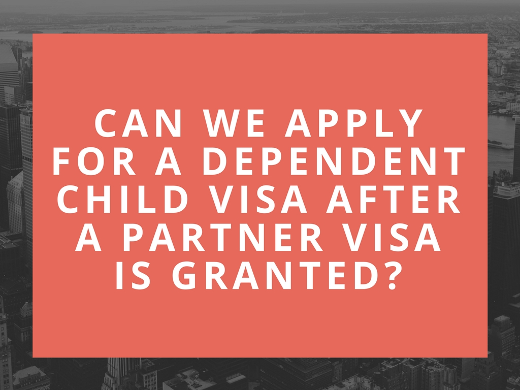 application for visa after grant of study permit
