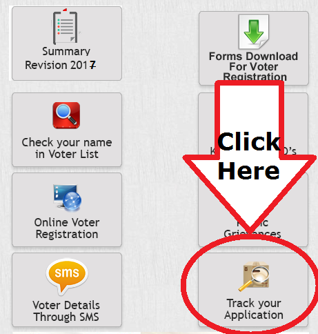 how to track your pr card application