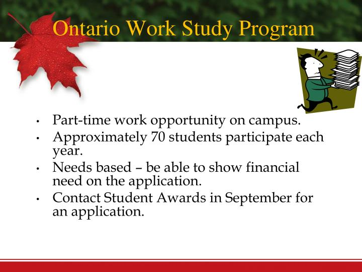 when are ontario osap applications due