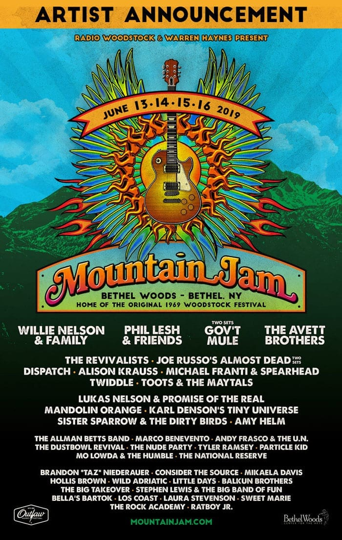 music on the mountain artist application