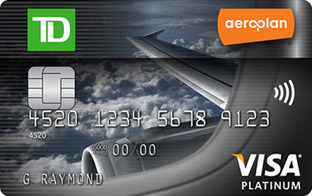 visa application pay for tow td bank