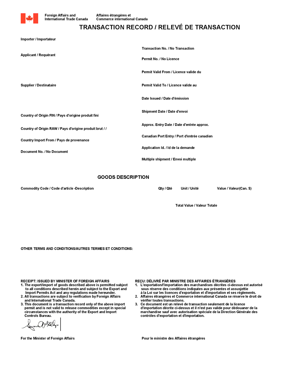 application for canadian restricted firearms license