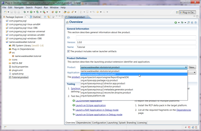 how to change the name of java application