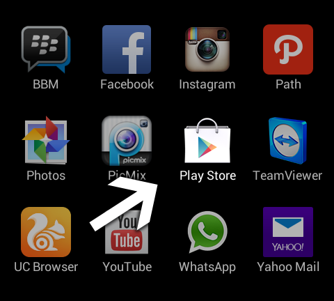 how to set android application to trusted