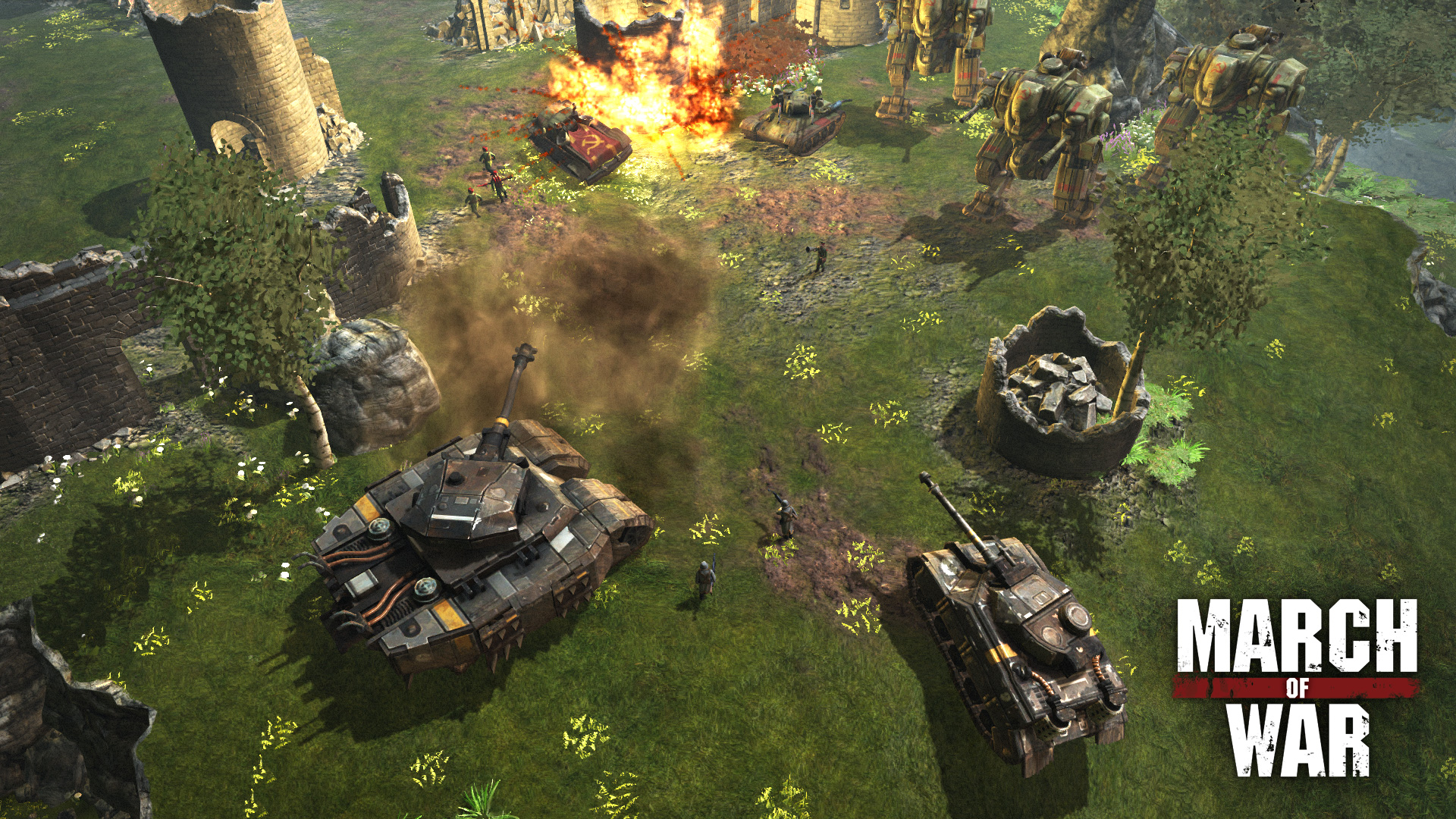 application game war iphone et android