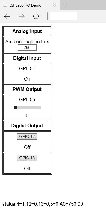 how to send input values to a wep application