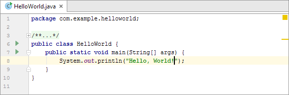 creating application system in java
