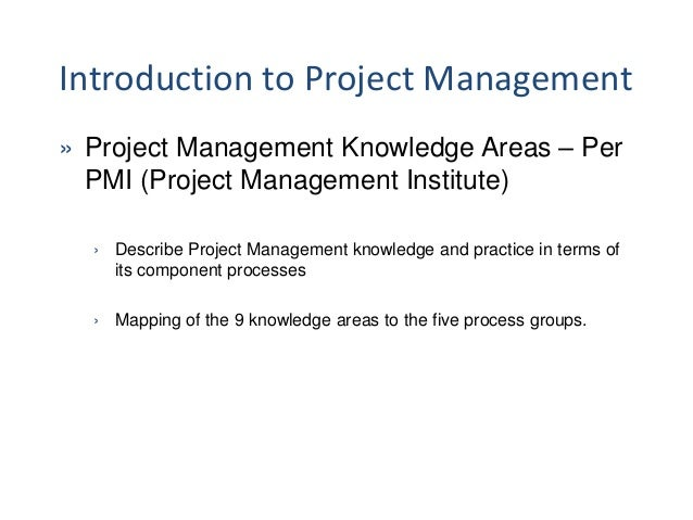 how to describe project in pmp application