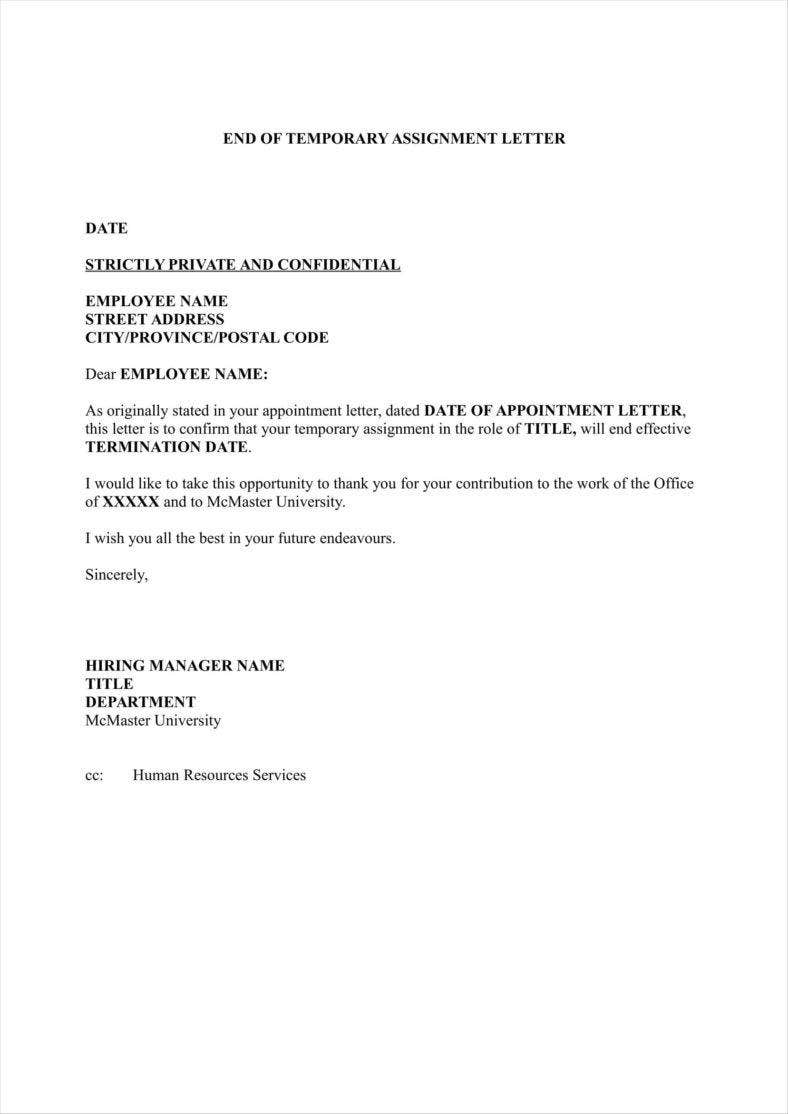 job application how to say terminated without cause
