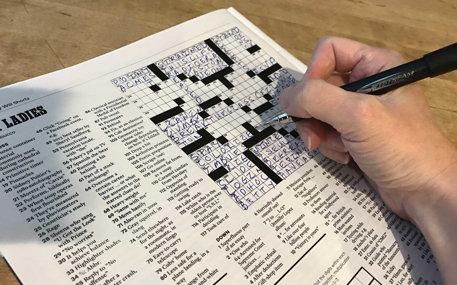 ny times crossword puzzle application