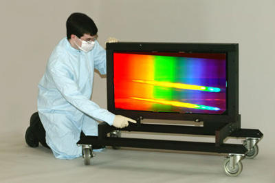 practical application of the grating spectrometer