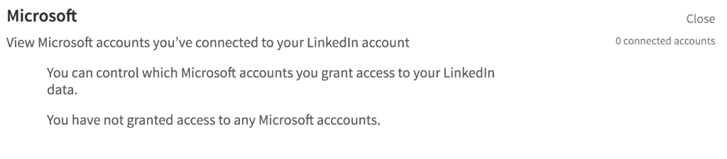 what are third party applications on linkedin
